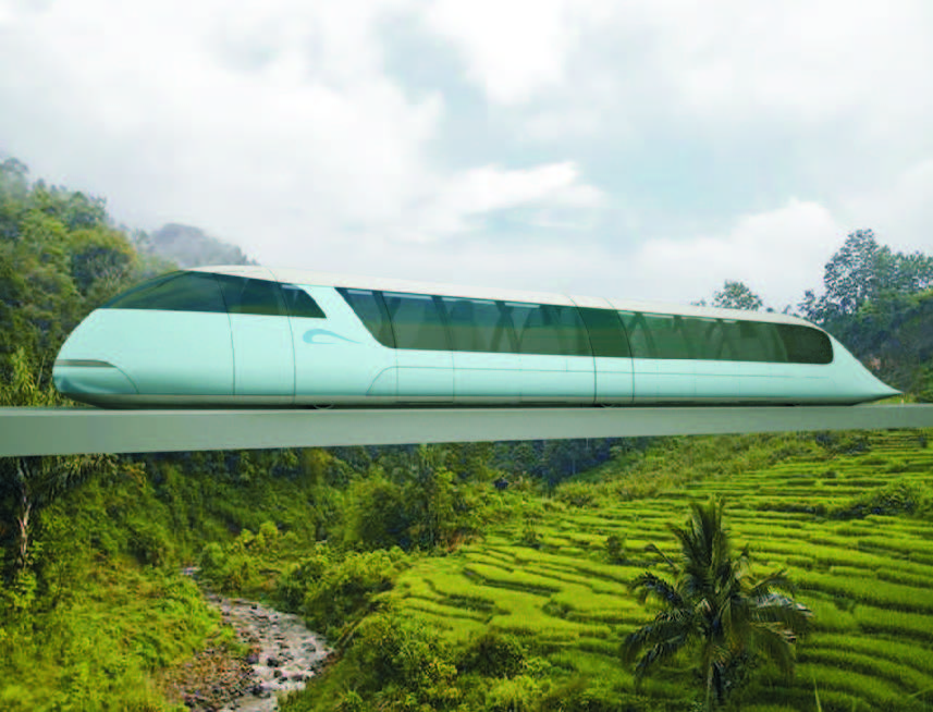 High Speed Overhead Passenger1
